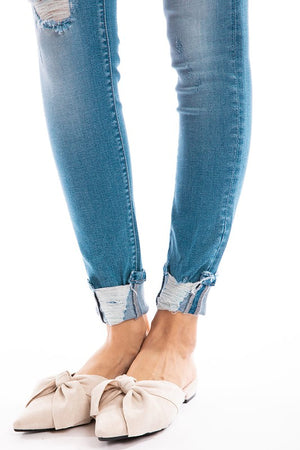 KanCan High-Rise Ankle Skinny
