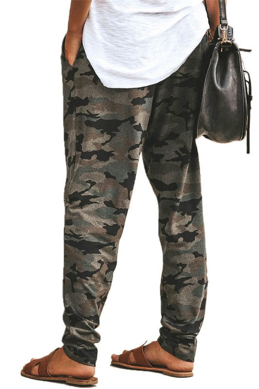 Pocketed Camo Joggers