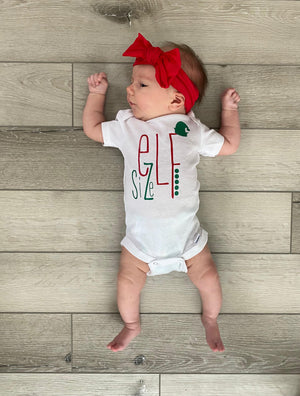 [CHRISTMAS] Snarky Onesies - Elf Size
