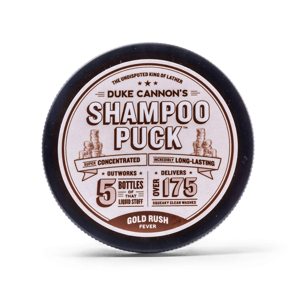 Duke Cannon Shampoo Puck - Gold Rush Fever