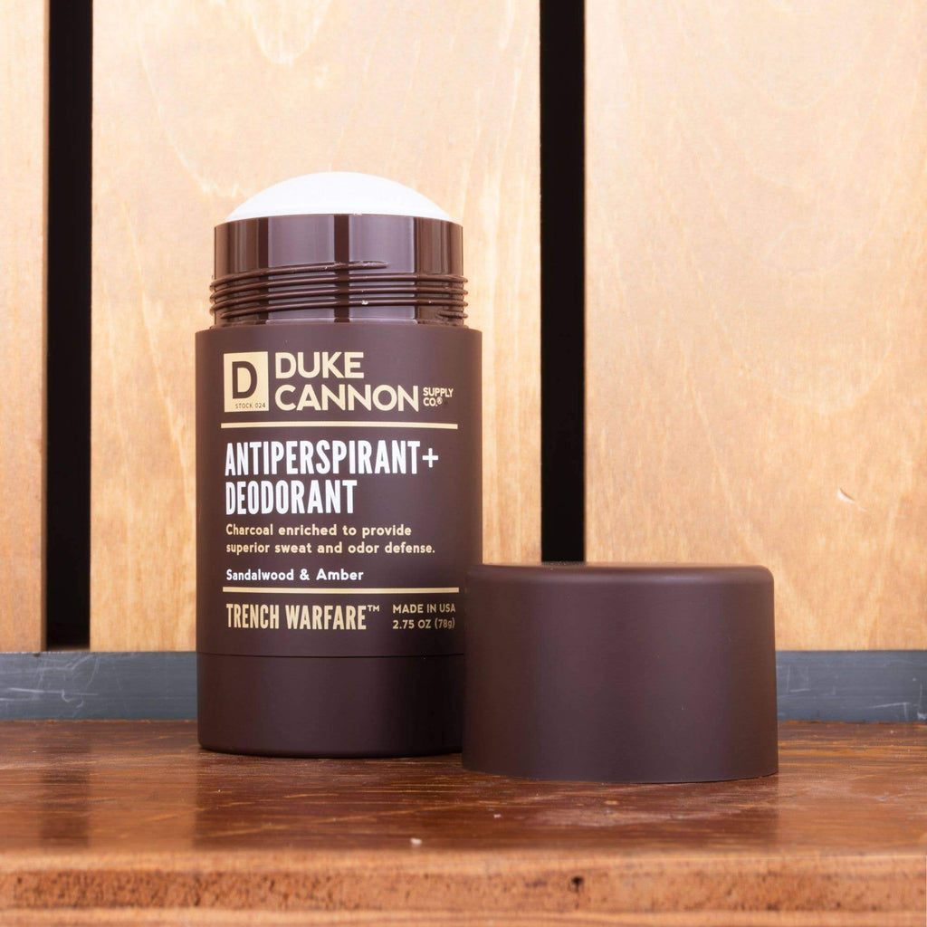 Duke Cannon Antiperspirant + Deodorant - Trench Warfare