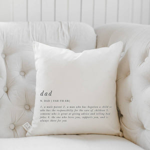 Dad Definition Pillow
