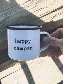 Enamel Mug - Happy Camper
