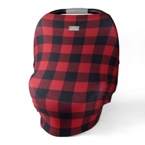 Itzy Ritzy Buffalo Plaid Mom Boss™ 4-In-1 Multi-Use Cover