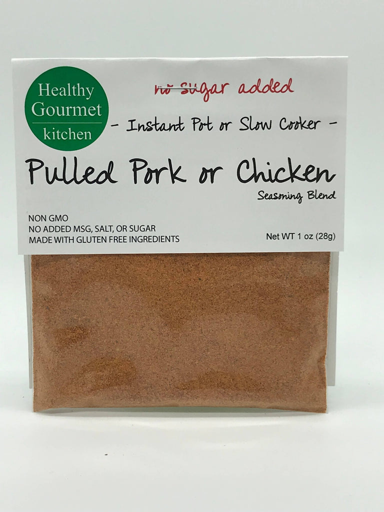 Pulled Pork or Chicken Seasoning Mix