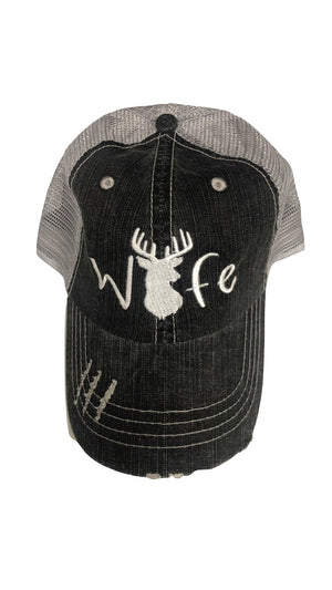 Embroidered Wife Deer Hat