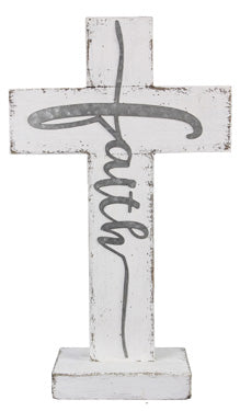 Faith Rustic Cross