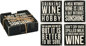 Coaster Set - Wine