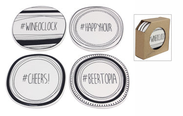 Hashtag Coaster Sets