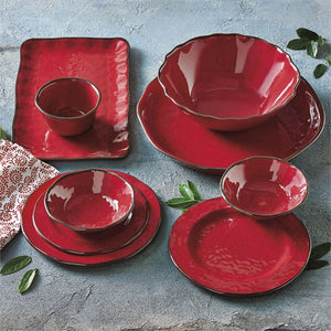 [CHRISTMAS] Red Melamine Bowl Set