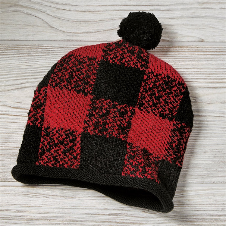 Baby Buffalo Check Hat, 6-12 Months