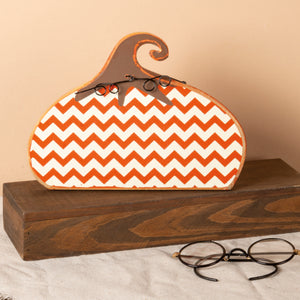 Stand Up - Chevron Pumpkin