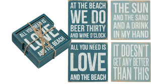 Coaster Set - Beach