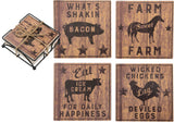 Coaster Set - Farmhouse