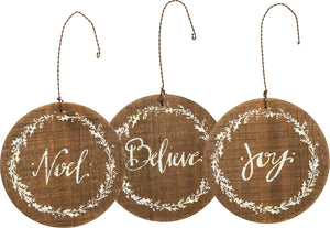 Barnwood Christmas Ornaments