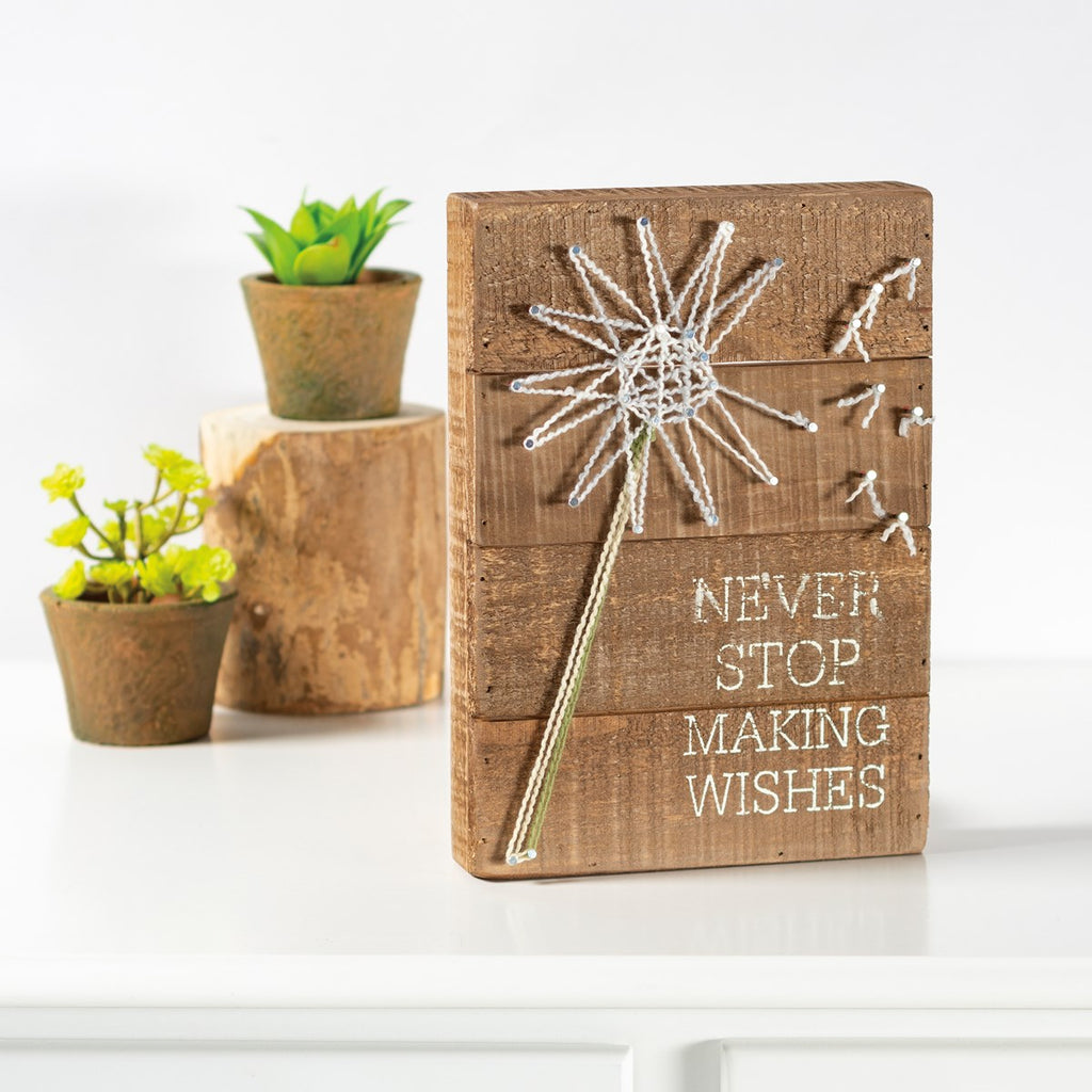 String Art - Never Stop Making Wishes