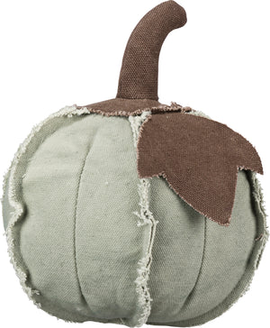 Fabric Pumpkin - Small Green