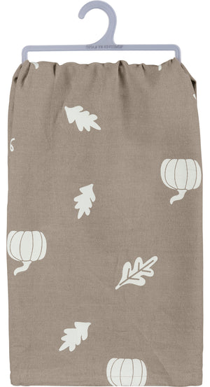 Dish Towel - Livin' On Pumpkin Spice & A Prayer