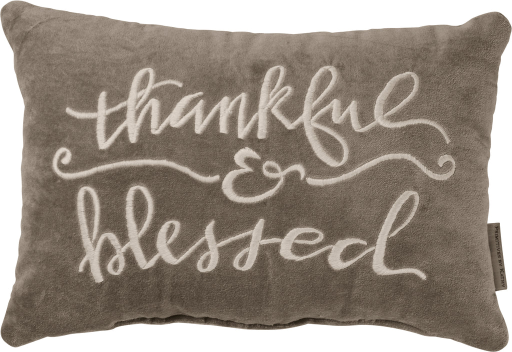 Pillow - Thankful & Blessed