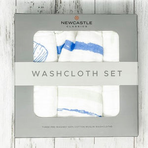 Washcloth Set - Ocean