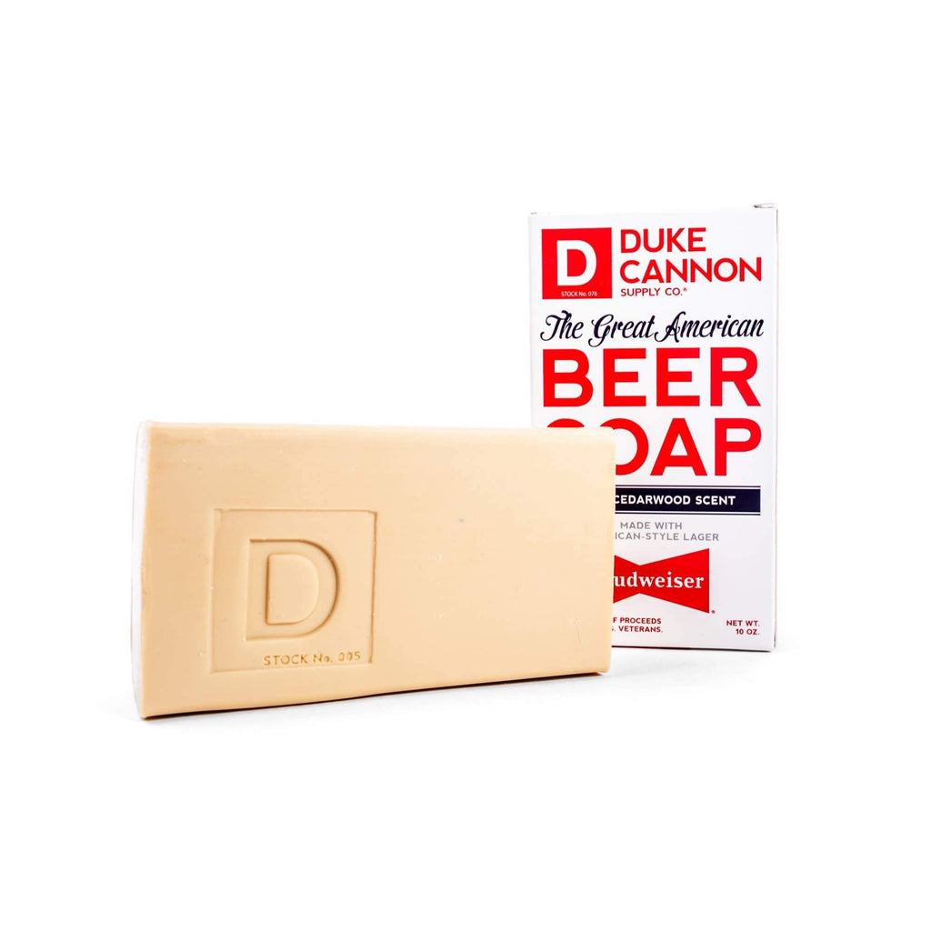 Duke Cannon - The Great American Budweiser Beer Soap