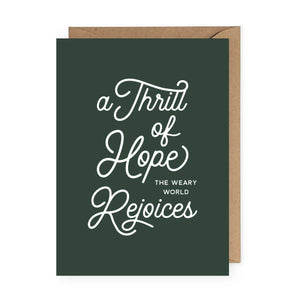 Thrill of Hope Card