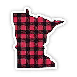 Minnesota Flannel Sticker