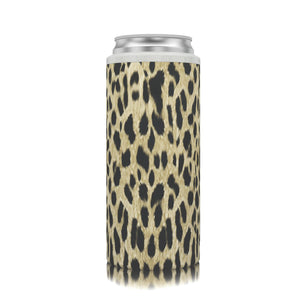 Slim Can Koozie Cheetah
