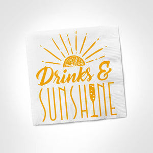 Twisted Napkins - Drinks & Sunshine