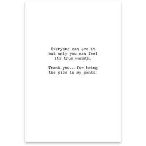 Greeting Card - Friendship