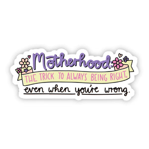 Motherhood Definition Sticker