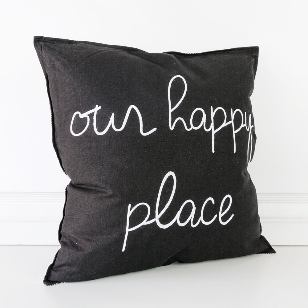 "Our Happy Place 20""x20"" Pillow"
