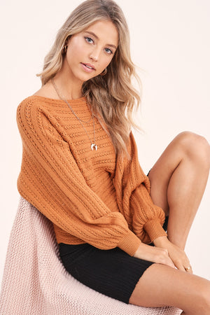 Ginger Pinot Knit Sweater