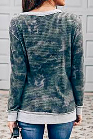 Camo Boat Neck Thermal