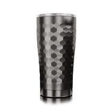 20 oz. Hammered Gunmetal Tumbler by SIC