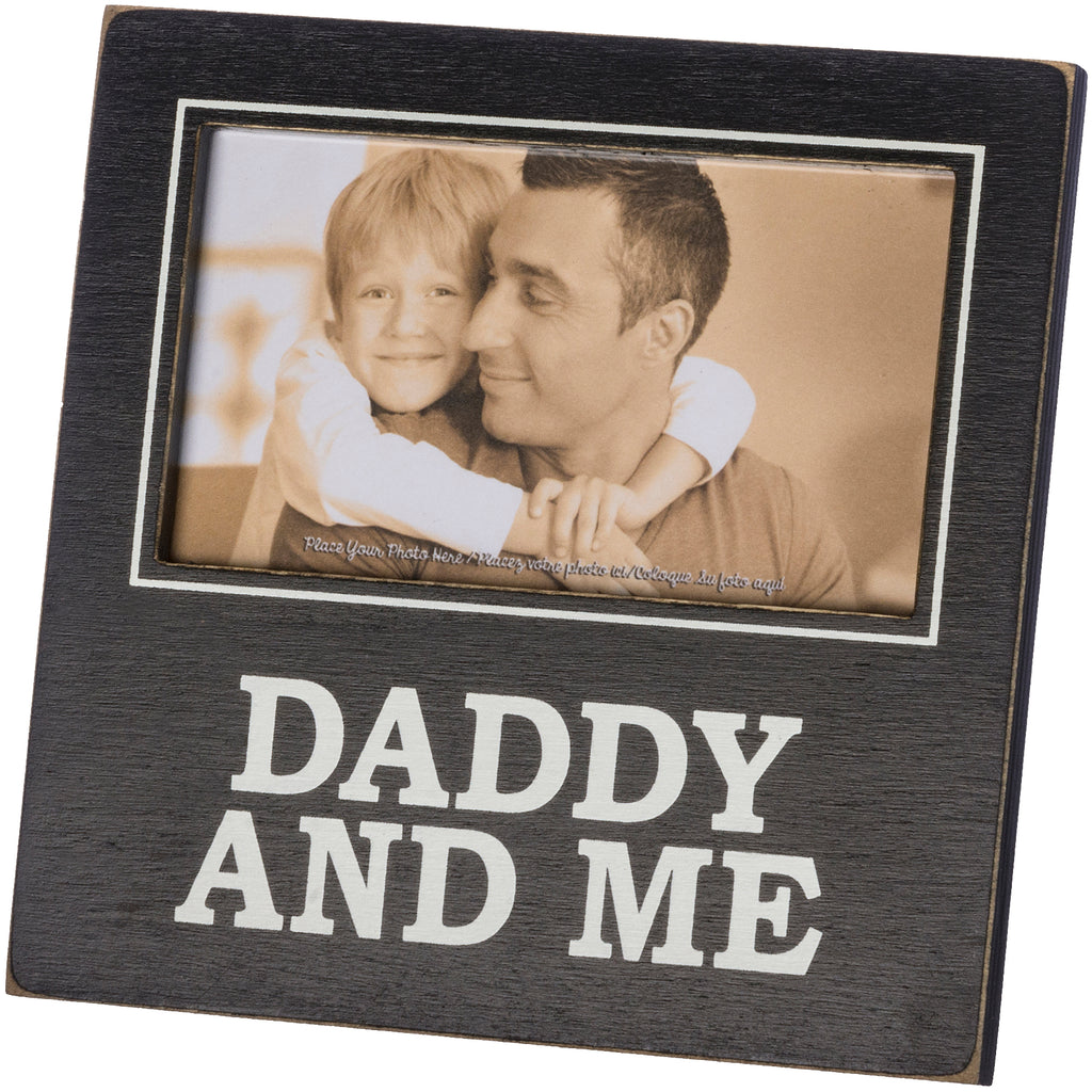 Plaque Frame - Daddy And Me