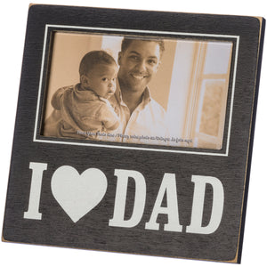 Plaque Frame - I Love Dad