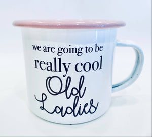 Enamel Mug - Old Ladies