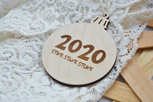 [CHRISTMAS] 2020 Stink Stank Stunk Ornament