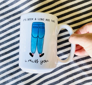 I Miss You Ceramic Mug