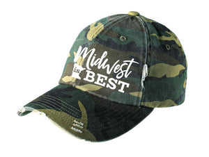 Camo Minnesota Midwest Is Best Hat