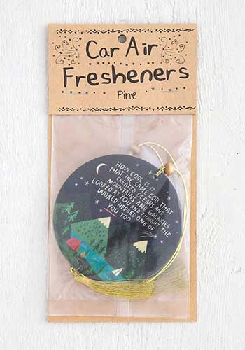 How Cool Is God Air Freshener