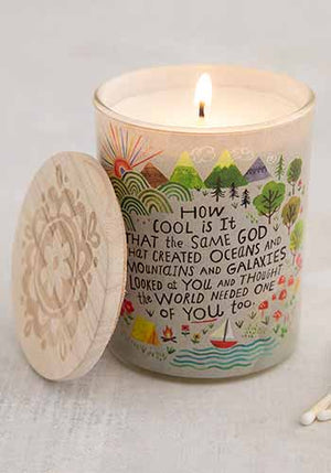 How Cool Is God Soy Candle