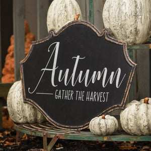 Autumn Gather Sign