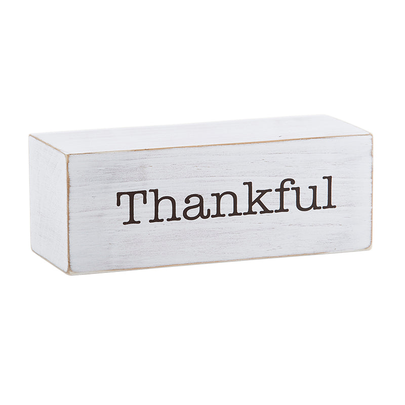 Message Block - Thankful