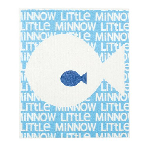 Baby Washcloth - Little Minnow