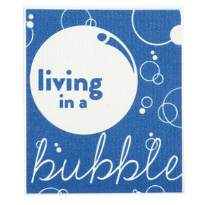 Baby Washcloth - Living in a Bubble