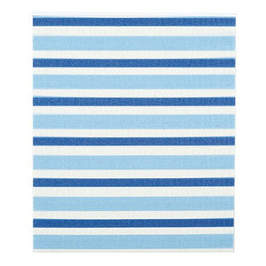 Baby Washcloth - Blue Stripe