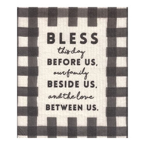 Organic Dishcloth - Bless The Day