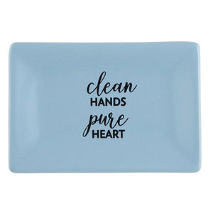 Soap Dish - Clean Hands